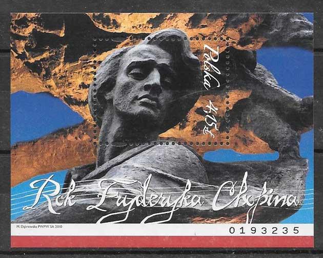 sellos personalidad Polonia 2010