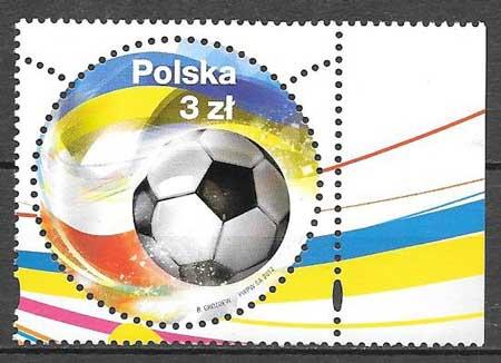 sellos deporte Polonia 2012