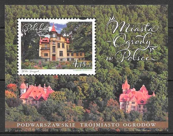 sellos arquitectura y turismo Polonia 2012