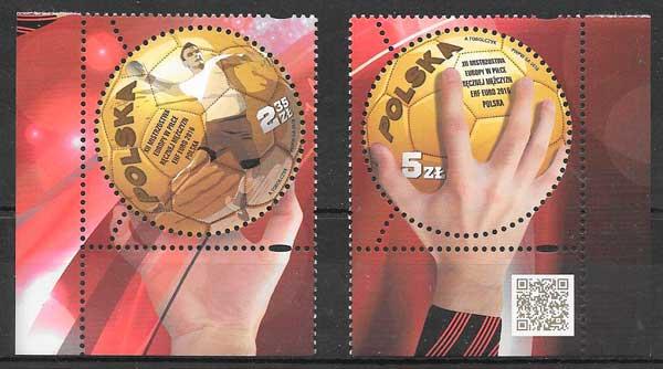 sellos colección deporte 2016