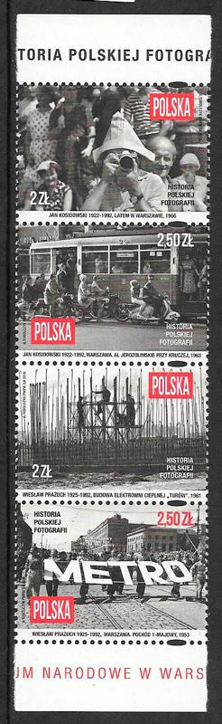 colección sellos arte Polonia 2016