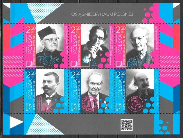 sellos personalidad Polonia 2016