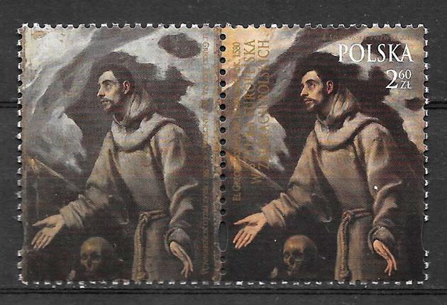sellos arte Polonia 2017