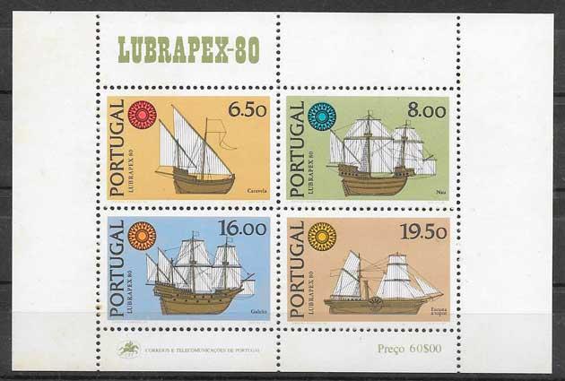 sellos transporte Portugal 1980