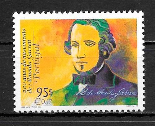 sellos personalidades Portugal 1999