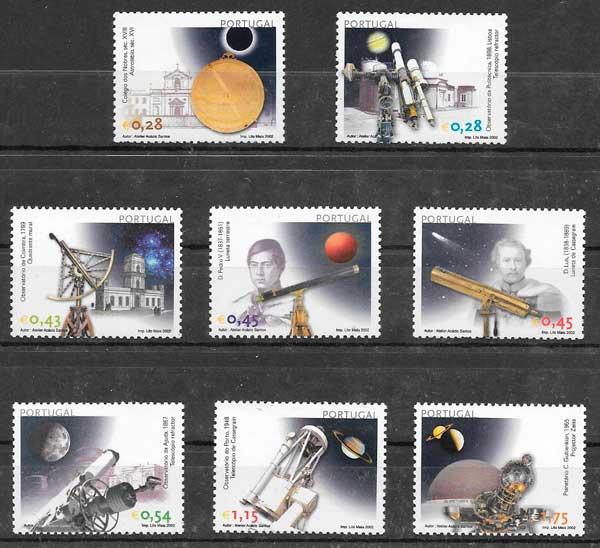 filatelia colección espacio 2002