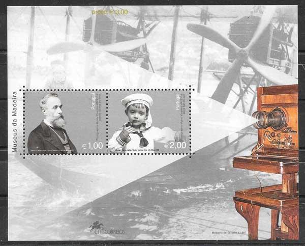 sellos filatelia arte Portugal Madeira 2003