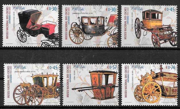 sellos transporte Portugal 2005