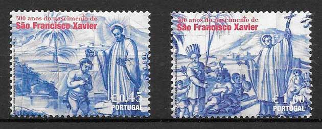 colección sellos arte Portugal 2006