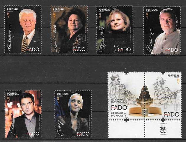 filatelia colección arte Portugal 2012