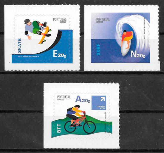 sellos deporte Portugal 2014