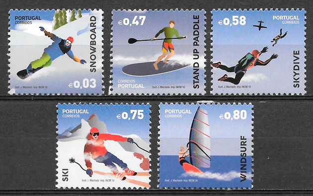 sellos deporte Portugal 2016