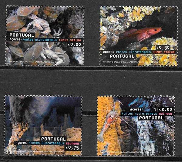 filatelia turismo Portugal Azores 2006