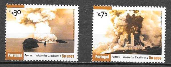colección sellos turismo Portugal Azores 2007