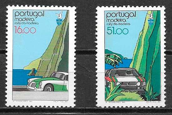 filatelia transporte Portugal Madeira 1984