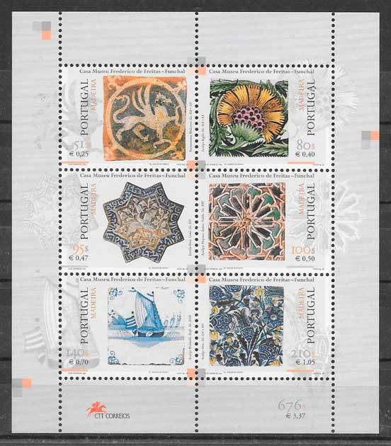 sellos arte Madeira 1999