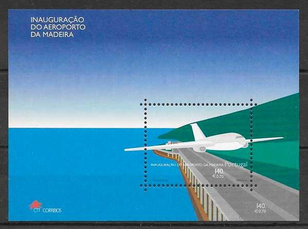 filatelia transporte Portugal Madeira 2000