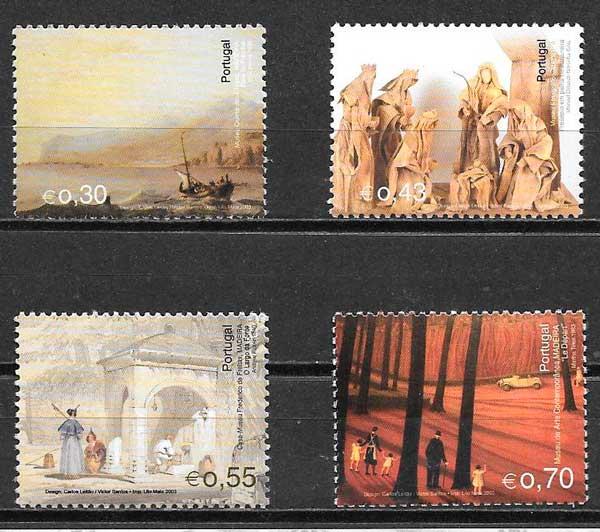 filatelia colección arte Portugal Madeira 2003