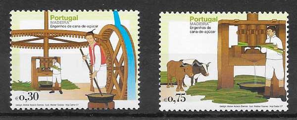 colección sellos arquitectura Portugal Madeira 2007