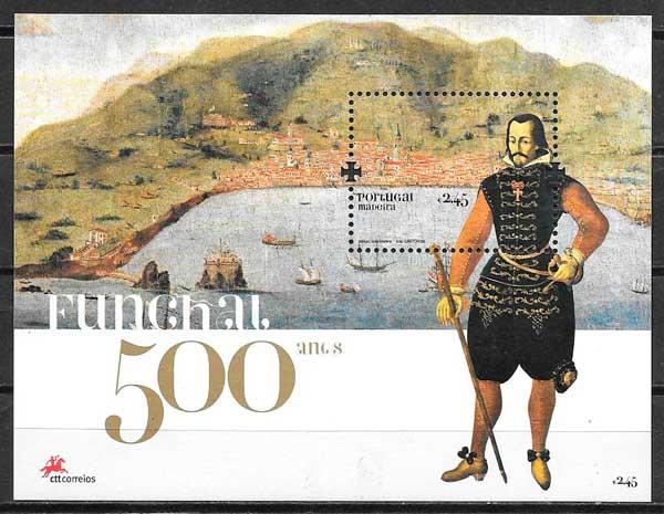colección sellos arquitectura Portugal Madeira 2008