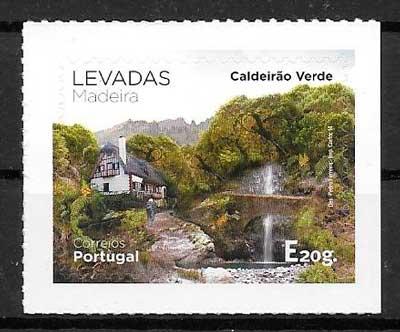 colección sellos turismo Madeira 2014