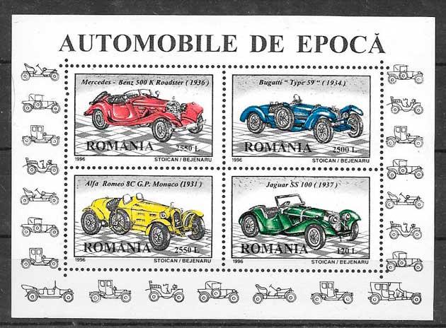 sellos transporte Rumanía 1996