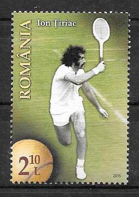 filatelia deporte Rumanía 2015