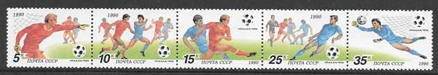 Filatelia sellos Copa mundial de futbol
