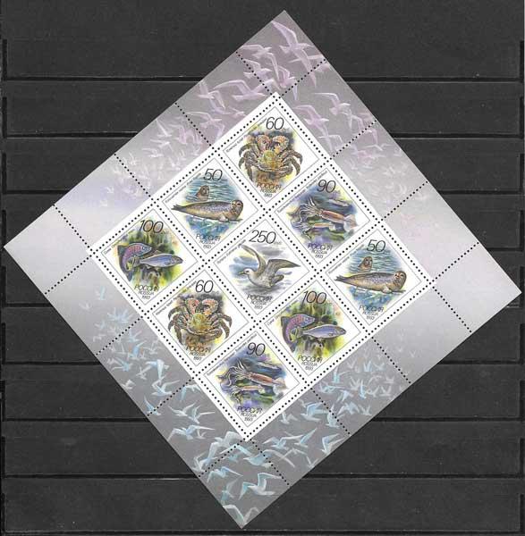 Sellos Rusia-1993-02