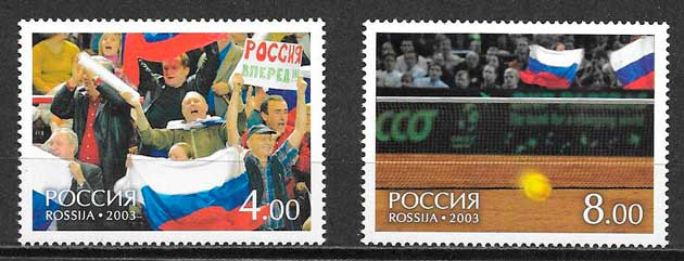 sellos deporte Rusia 2003