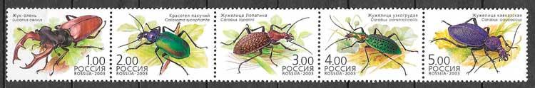 sellos fauna Rusia 2003