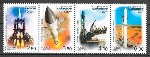 sellos espacio Rusia 2004