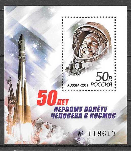 sellos espacio Rusia 2011