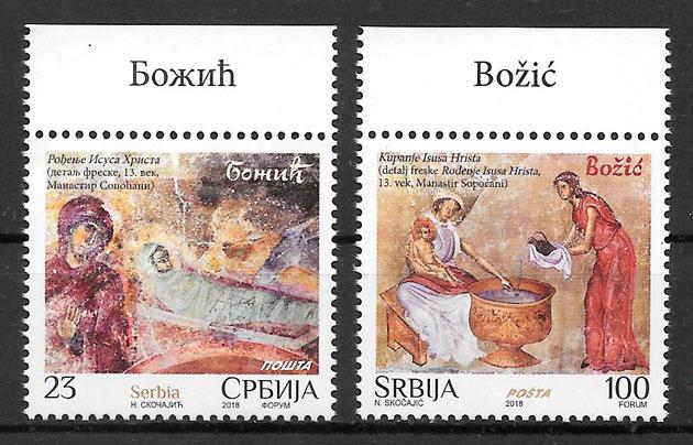 selos navidad serbia 2018