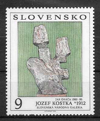 colección sellos Eslovaquia 1992