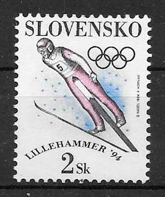 sellos deporte Eslovaquia 1994