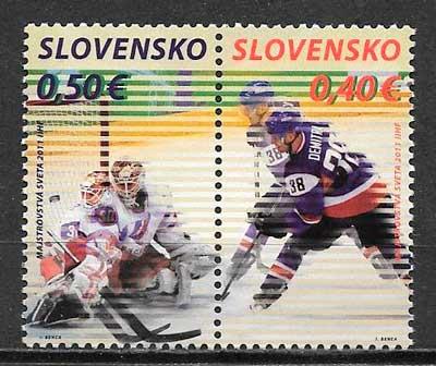 sellos deporte Eslovaquia 2011