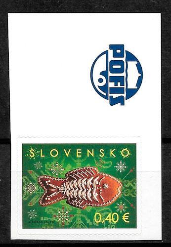 sellos navidad Eslovaquia 2011