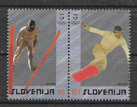 Colección sellos Slovenia-2006-01