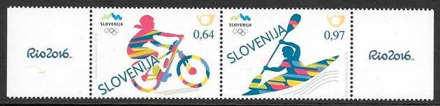 filateloia deporte Eslovenia