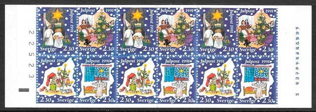 Suecia-1991-02-navidad