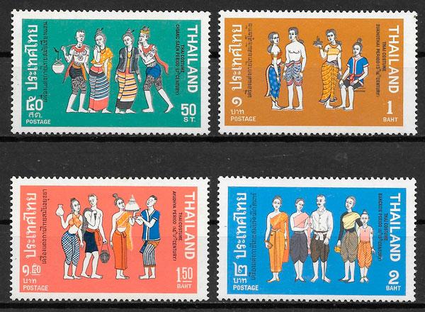 selos arte Tailandia 1972