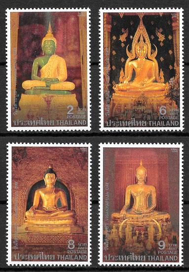 sellos arte Tailandia 1995