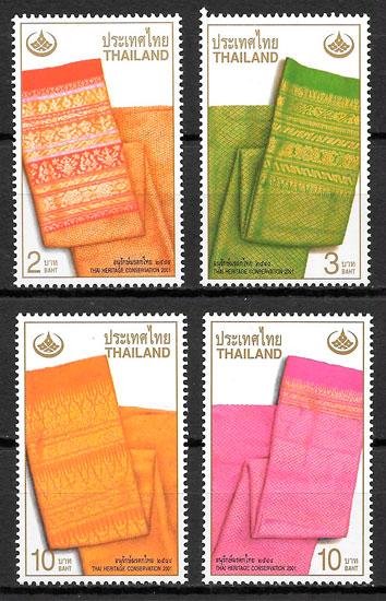 selos arte Tailandia 2001