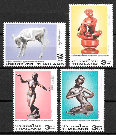 sellos arte Tailandia 2004