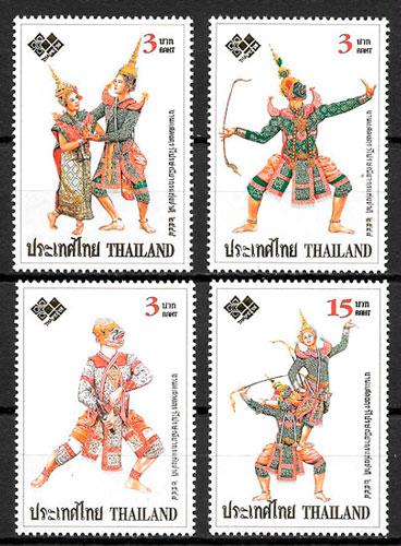 filatelia arte Tailandia 2005