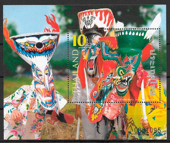 filatelia arte Tailandia 2006