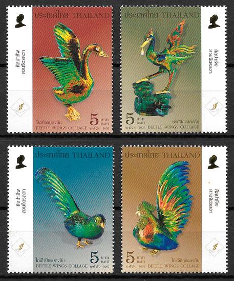 filatelia colección arte Tailandia 2006