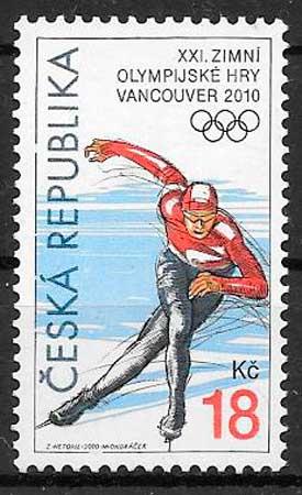 sellos deporte Chequia 2010