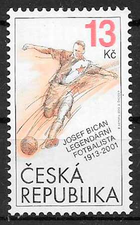 Filatelia deporte Chequia 2013